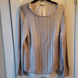 Lucky brand sweater with lining Size Medium